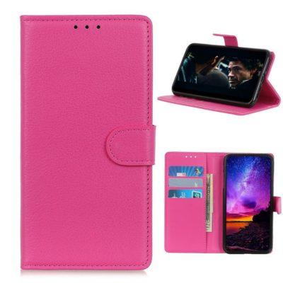 Nokia 3.4 Lompakko Suojakotelo Pinkki