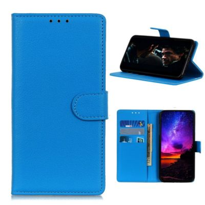 Nokia 3.4 Lompakko Suojakotelo Sininen