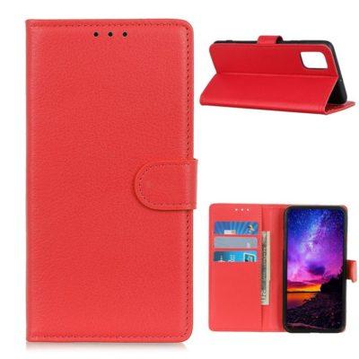 OnePlus 8T Suojakotelo Punainen Lompakko