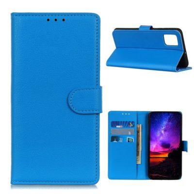 OnePlus 8T Suojakotelo Sininen Lompakko