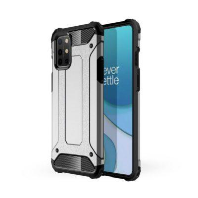 OnePlus 8T Suojakuori 2-osainen Hopea