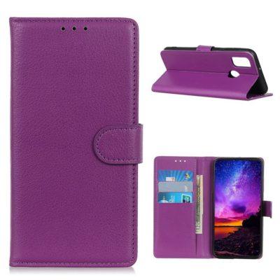 OnePlus Nord N100 Kotelo Violetti Lompakko