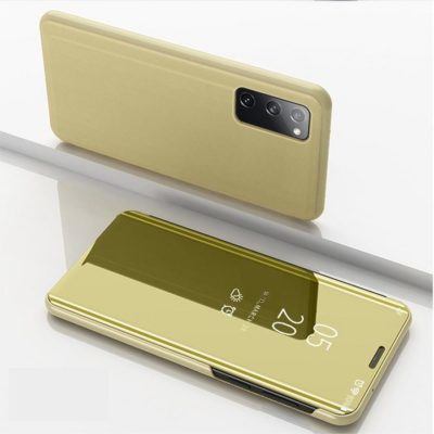 Samsung Galaxy S20 FE Kotelo Peilipinta Kulta
