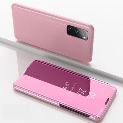 Samsung Galaxy S20 FE Kotelo Peilipinta Ruusukulta