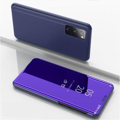 Samsung Galaxy S20 FE Kotelo Peilipinta Tummansininen