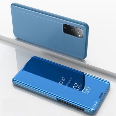 Samsung Galaxy S20 FE Kotelo Peilipinta Vaaleansininen