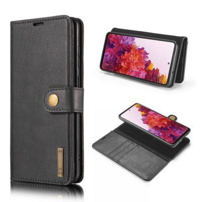 Samsung Galaxy S20 FE Nahkakotelo DG.MING Musta