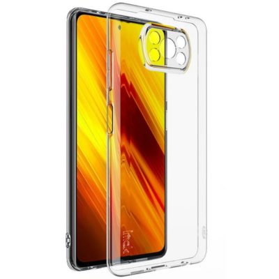Xiaomi Poco X3 NFC Suojakuori IMAK Läpinäkyvä