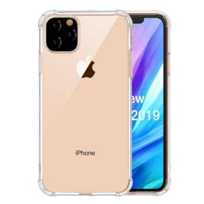 Apple iPhone 11 Suojakuori LEEU DESIGN Läpinäkyvä