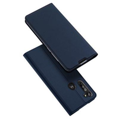 Motorola Moto G8 Suojakotelo Dux Ducis Tummansininen