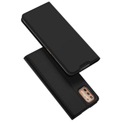 Motorola Moto G9 Plus Kotelo Dux Ducis Musta