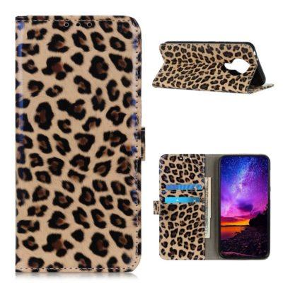 Nokia 3.4 Lompakko Suojakotelo Leopardi