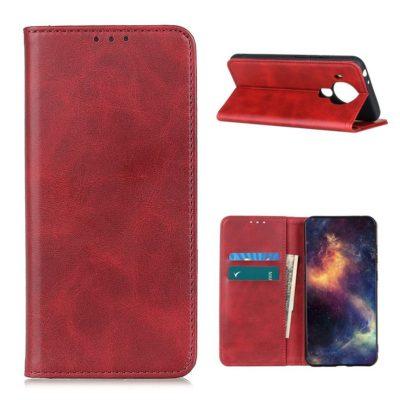 Nokia 5.4 Kannellinen Suojakotelo Punainen