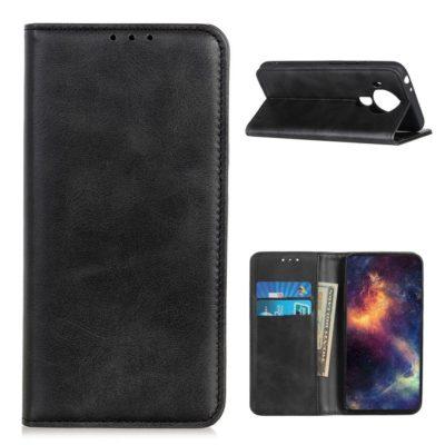 Nokia 5.4 Kannellinen Suojakotelo Tummanharmaa