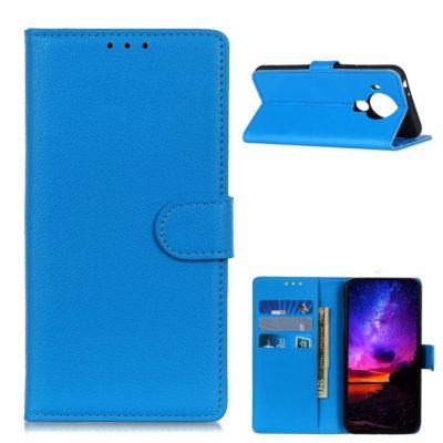 Nokia 5.4 Lompakko Suojakotelo Sininen