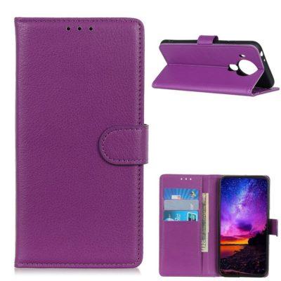Nokia 5.4 Lompakko Suojakotelo Violetti
