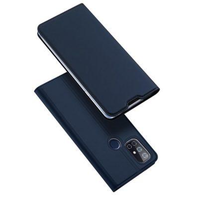 OnePlus Nord N10 5G Kotelo Dux Ducis Tummansininen