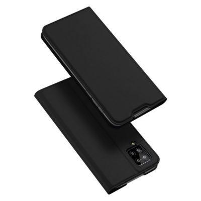 Samsung Galaxy A12 Kotelo Dux Ducis Musta