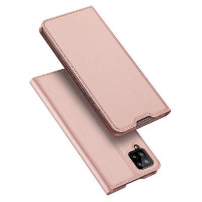 Samsung Galaxy A12 Kotelo Dux Ducis Ruusukulta