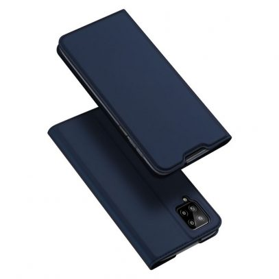 Samsung Galaxy A12 Kotelo Dux Ducis Tummansininen