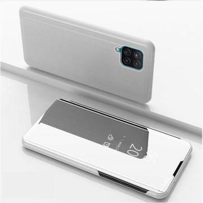 Samsung Galaxy A12 Kotelo Peilipinta Hopea