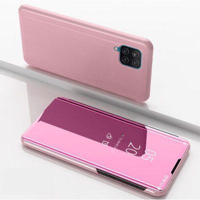 Samsung Galaxy A12 Kotelo Peilipinta Ruusukulta