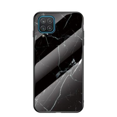 Samsung Galaxy A12 Suojakuori Marmori Kuvio 1