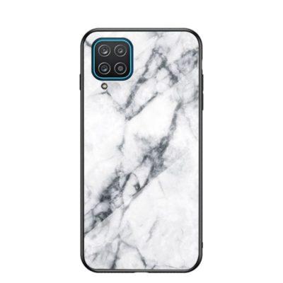 Samsung Galaxy A12 Suojakuori Marmori Kuvio 5