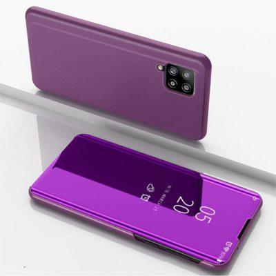 Samsung Galaxy A42 5G Kotelo Peilipinta Violetti