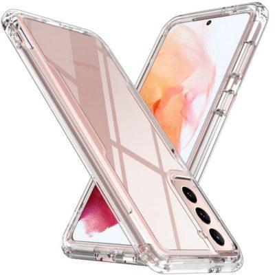 Samsung Galaxy S21 5G Suojakuori Läpinäkyvä