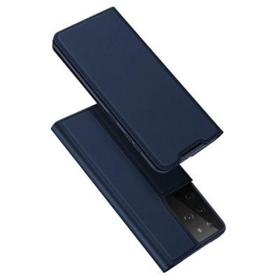 Samsung Galaxy S21 Ultra 5G Kotelo Dux Ducis Sininen