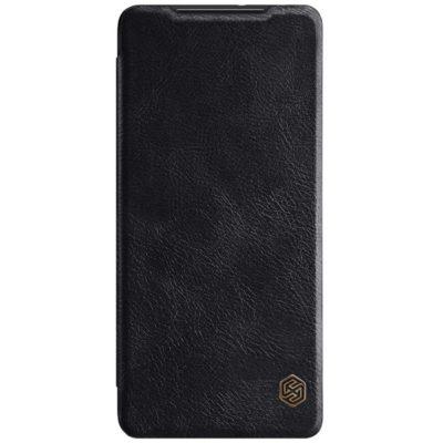 Samsung Galaxy S21 Ultra 5G Kotelo Nillkin Qin Musta