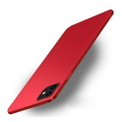 Apple iPhone 12 / 12 Pro Suojakuori MOFI Punainen