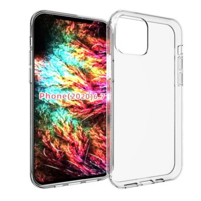 Apple iPhone 12 Pro Max Suojakuori Läpinäkyvä