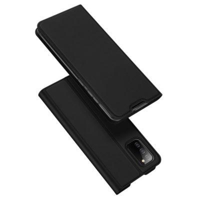 Samsung Galaxy A02s Kotelo Dux Ducis Musta