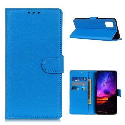 Samsung Galaxy A02s Kotelo Sininen Lompakko