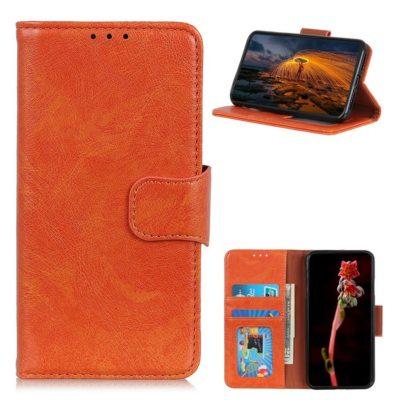 Samsung Galaxy A32 5G Nahkakotelo Oranssi