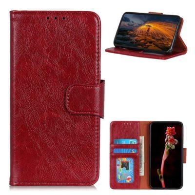 Samsung Galaxy A32 5G Nahkakotelo Punainen