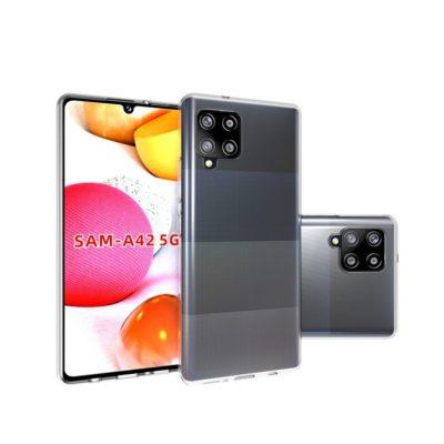 Samsung Galaxy A42 5G Suojakuori Läpinäkyvä