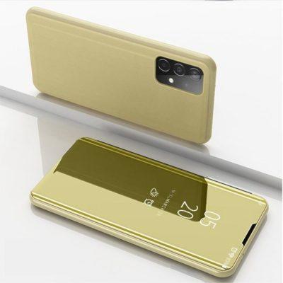 Samsung Galaxy A52 5G Kotelo Peilipinta Kulta
