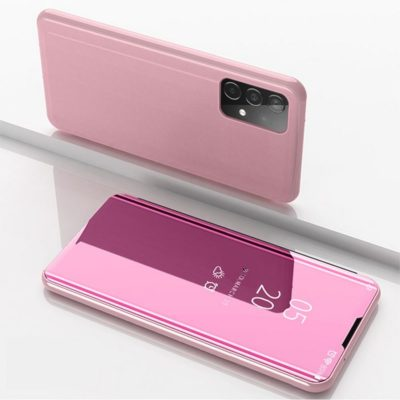 Samsung Galaxy A52 5G Kotelo Peilipinta Ruusukulta