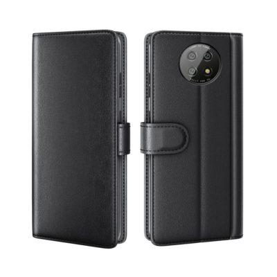 Xiaomi Redmi Note 9T 5G Nahkakotelo Musta