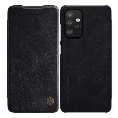 Samsung Galaxy A52 / A52 5G Kotelo Nillkin Qin Musta
