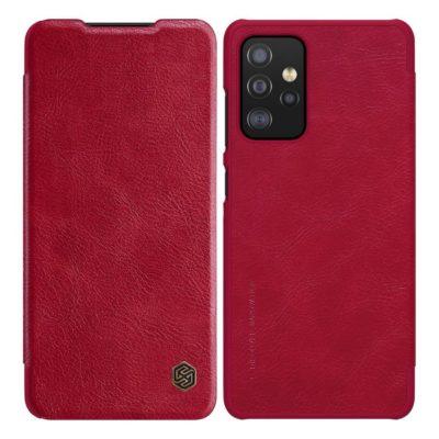 Samsung Galaxy A52 / A52 5G Kotelo Nillkin Qin Punainen