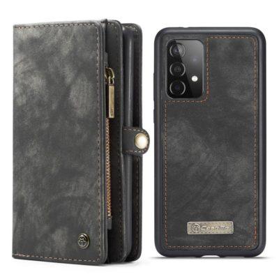 Samsung Galaxy A52 / A52 5G Lompakko Caseme Harmaa