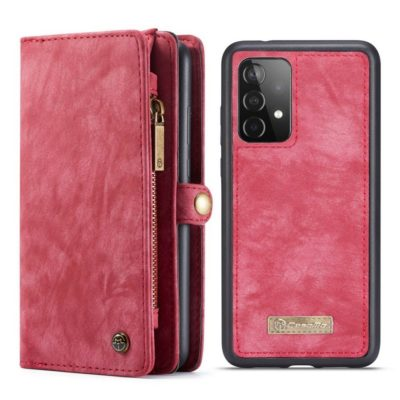 Samsung Galaxy A52 / A52 5G Lompakko Caseme Punainen