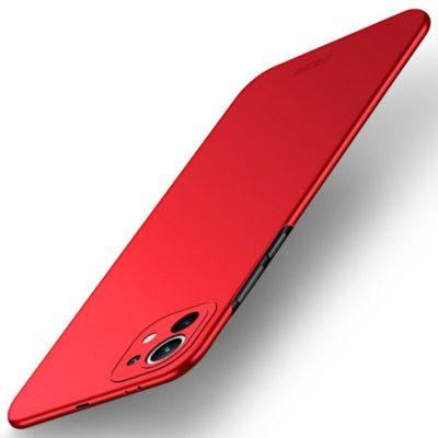 Xiaomi Mi 11 Suojakuori MOFI Slim Punainen