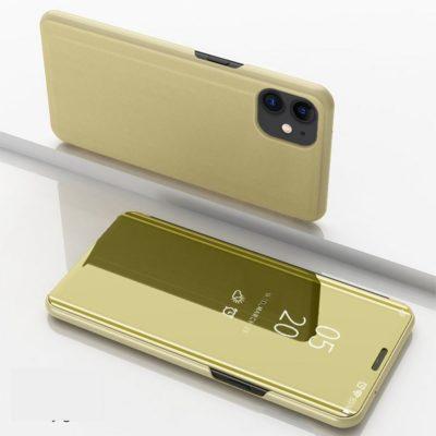 Apple iPhone 12 / 12 Pro Kotelo Peilipinta Kulta