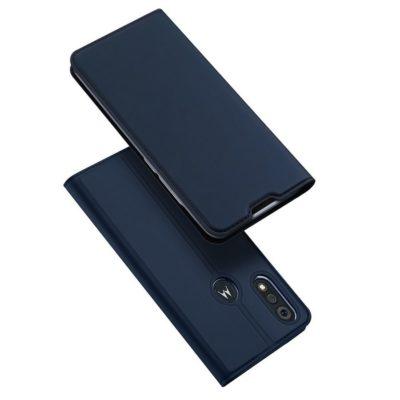 Motorola Moto E6i Suojakotelo Dux Ducis Tummansininen