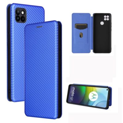 Motorola Moto G9 Power Kotelo Hiilikuitu Sininen